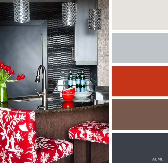 Color Choices For Home Interiors: 20 Most Successful Color Combination For Kitchen