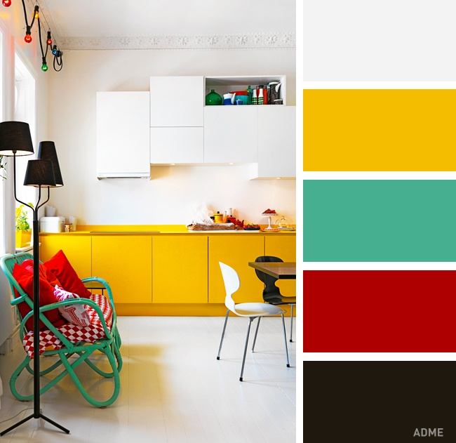 20 Most Successful Color Combination for Kitchen