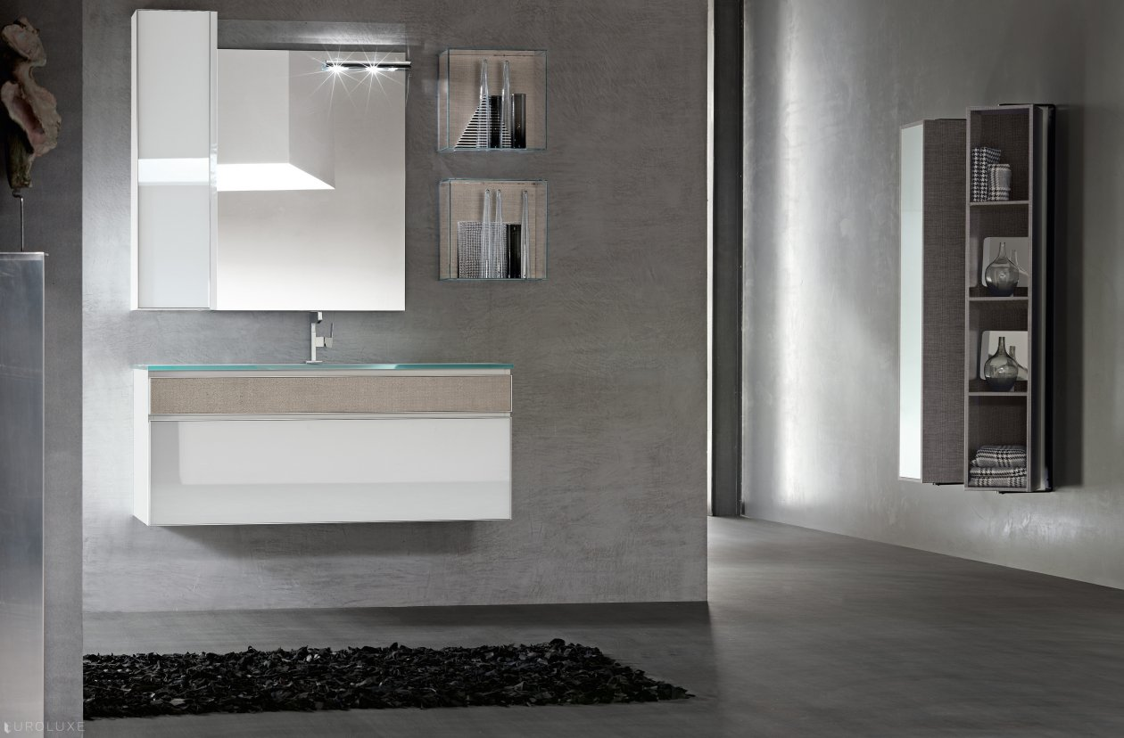 Onyx by artesi bathrooms euroluxe interiors for Bagno jungla