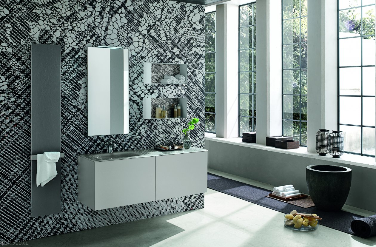 Olimpo by artesi bathrooms euroluxe interiors for Bagno jungla